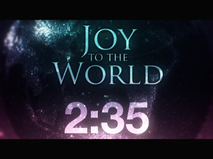 JOY TO THE WORLD COUNTDOWN