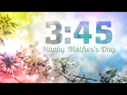 MOTHER'S DAY BLOSSOMS COUNTDOWN