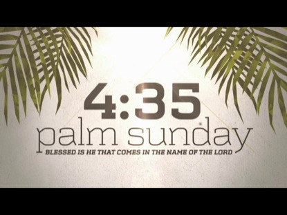 PALM SUNDAY WORSHIP COUNTDOWN