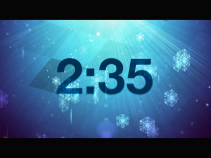 SNOW LIGHT COUNTDOWN