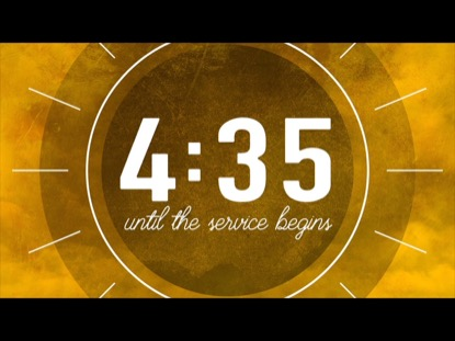 SUMMER CLOUDS ORANGE COUNTDOWN