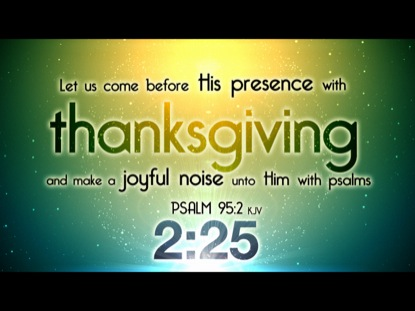 THANKSGIVING VERSES COUNTDOWN