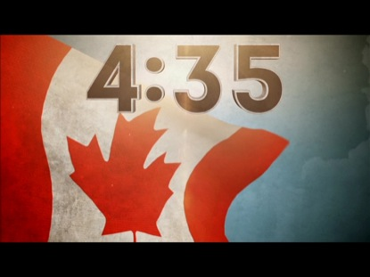 THE CANADIAN FLAG COUNTDOWN