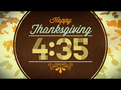 VINTAGE THANKSGIVING COUNTDOWN