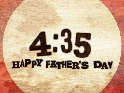 WOODEN SKY FATHER'S DAY COUNTDOWN
