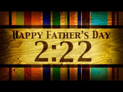 FATHER'S DAY WOODGRAIN COUNTDOWN