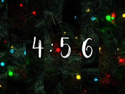 O CHRISTMAS TREE COUNTDOWN