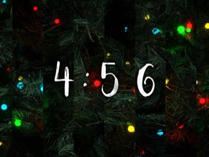 O CHRISTMAS TREE COUNTDOWN