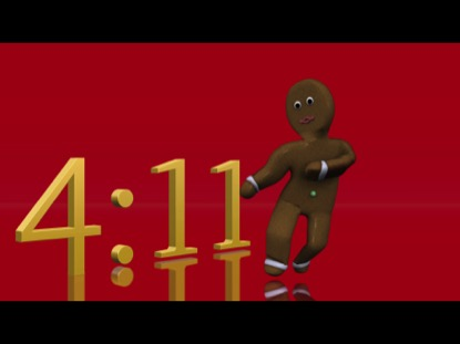 GINGERBREAD COUNTDOWN