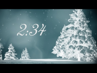 WINTER TREES COUNTDOWN