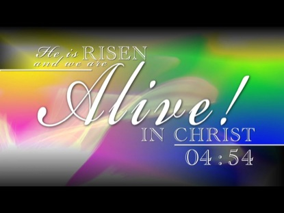 ALIVE IN CHRIST COUNTDOWN