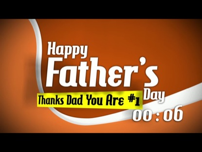 HAPPY FATHER'S DAY COUNTDOWN 2