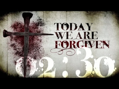 WE ARE FORGIVEN COUNTDOWN