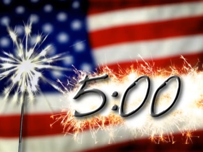 CONTEMPORARY JULY 4TH COUNTDOWN