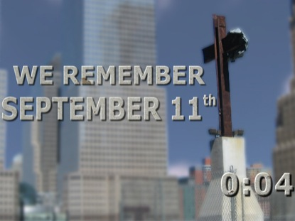 HEALING OUR WOUNDS- SEPTEMBER 11 COUNTDOWN