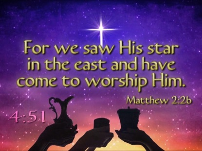 WORSHIP HIM CHRISTMAS SCRIPTURE COUNTDOWN
