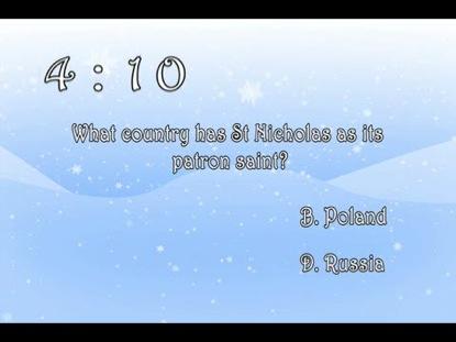 CHRISTMAS TRIVIA CHALLENGE COUNTDOWN