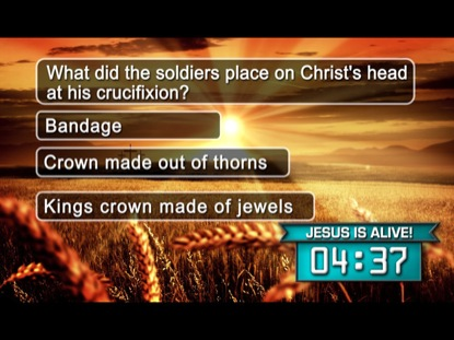 EASTER SUNRISE TRIVIA COUNTDOWN