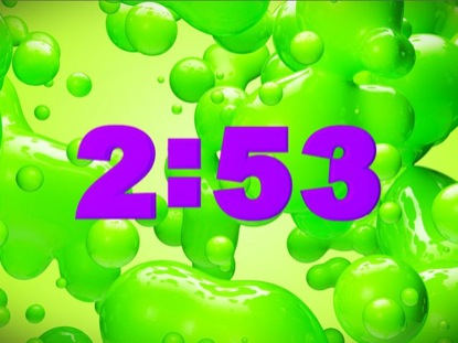 GREEN SLIME COUNTDOWN