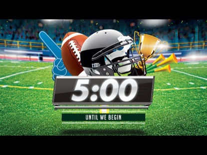 THE BIG GAME COUNTDOWN