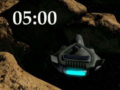 ASTEROID CRUISE COUNTDOWN