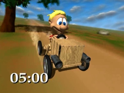 BOXCART RACE COUNTDOWN