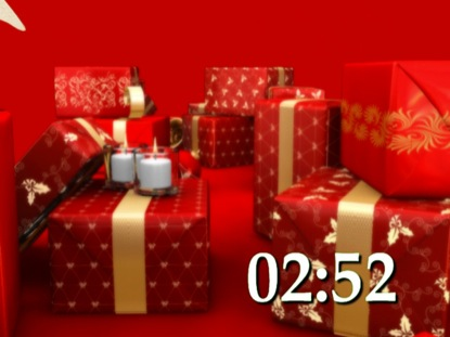 CHRISTMAS PRESENTS COUNTDOWN