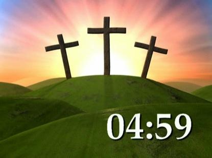 EASTER CROSSES COUNTDOWN