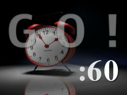 GAME CLOCK 60 SECS