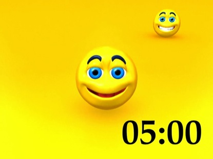 HAPPY FACES COUNTDOWN
