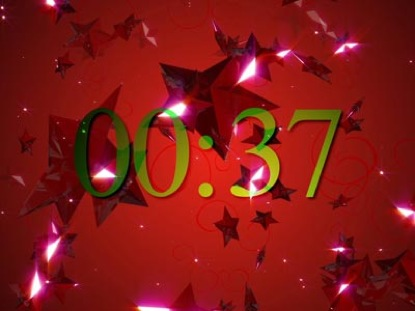 NEW YEARS TWINKLING STARS COUNTDOWN