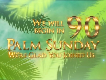 PALM SUNDAY BRANCHES COUNTDOWN