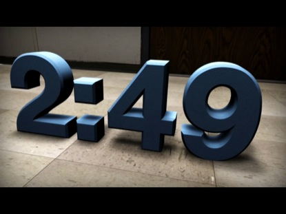 3D NUMBERS COUNTDOWN