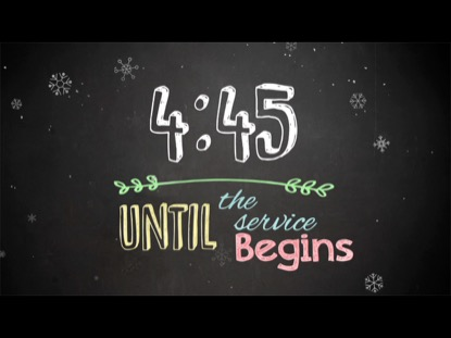 CHRISTMAS CHALK COUNTDOWN