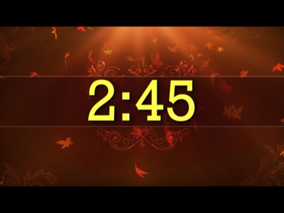 FALL COUNTDOWN 1