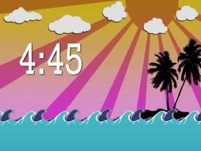 SURF COUNTDOWN 5 MIN