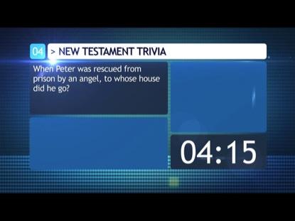 BIBLE TRIVIA COUNTDOWN