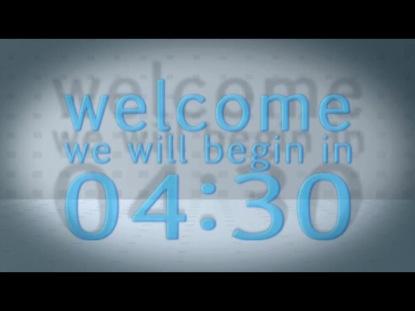 BLUE GEL COUNTDOWN