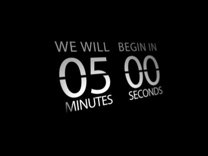 FLIP CLOCK COUNTDOWN 01