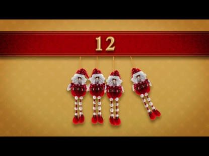 NEWTONS CRADLE CHRISTMAS COUNTDOWN 3