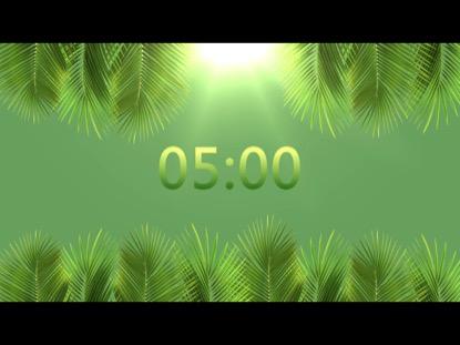 PALM SUNDAY BRIGHT COUNTDOWN