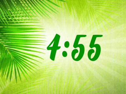 PALM SUNDAY RAYS COUNTDOWN