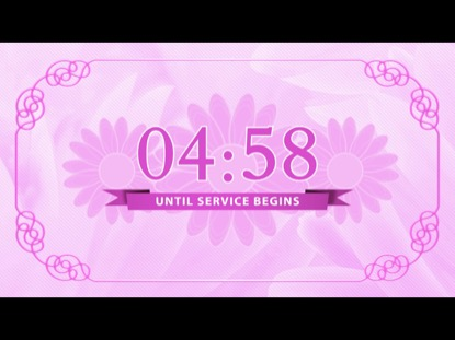 PINK FLORAL COUNTDOWN