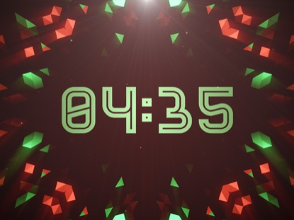 CRYSTAL PATTERNS COUNTDOWN CHRISTMAS