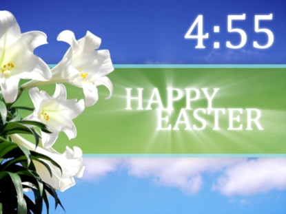 EASTER LILY SKY COUNTDOWN