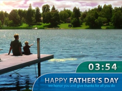 FATHER'S DAY DOCK COUNTDOWN