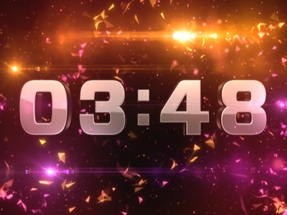 GEODESIC TECHNO COUNTDOWN