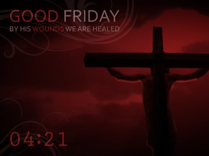 GOOD FRIDAY RED COUNTDOWN