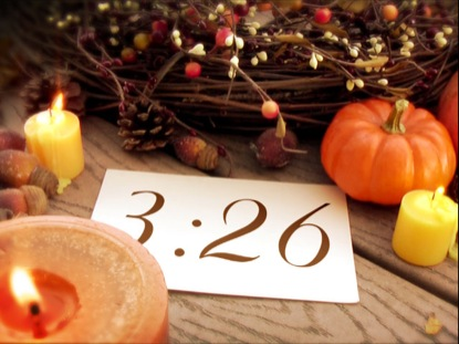 THANKSGIVING CANDLES COUNTDOWN