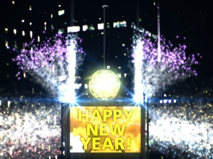 TIMES SQUARE NEW YEARS COUNTDOWN
